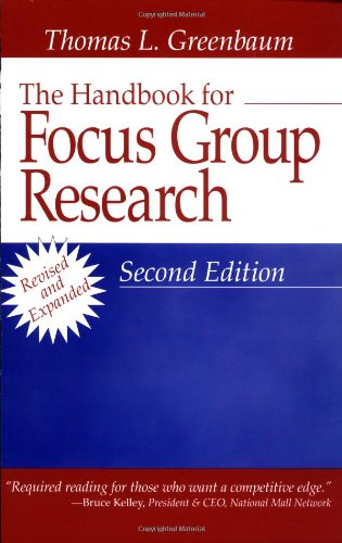 krueger focus groups a practical guide