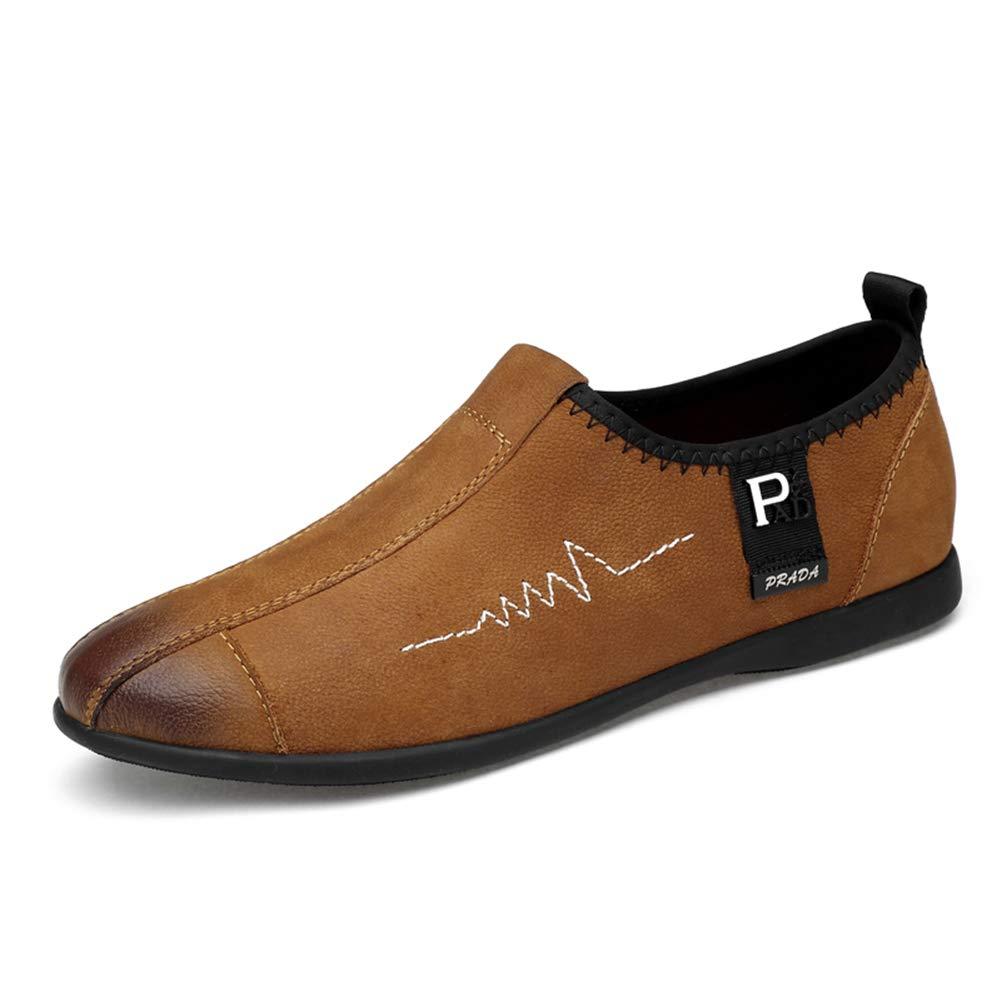 GPF-fei Herrenschuhe, Ledermoccasins Erbsen Schuhe Loafers & & & Slip-ONS Loafer Stiefelschuhe Driving schuhe Casual schuhe FlachschSchuhe Business schuhe,schwarz,38  72ddad