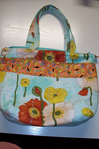 Handmade Quilted Handbags - Quilted Handmade Purse Tote Bag