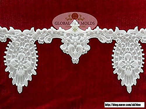 Handmade Silicone Fondant Mold/new Lace Mold 5325ds