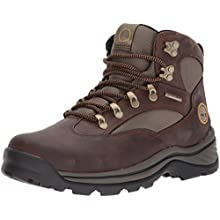 Timberland Men's Chocorua Trail Mid Waterproof Boot,Brown/Green,9.5 M