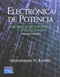 img - for Electronica de Potencia. Circuitos Dispositivos y Aplicaciones, 3/ed. book / textbook / text book