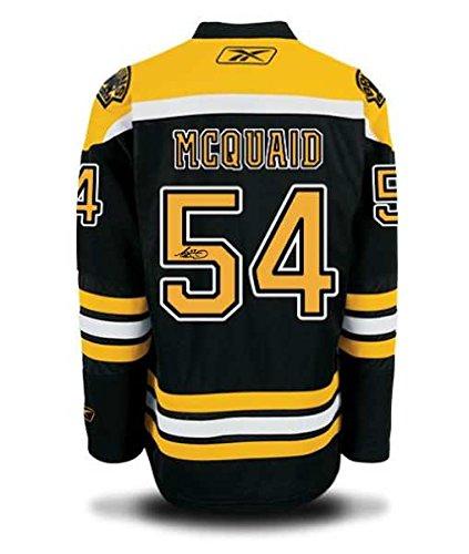 Adam McQuaid Signed Boston Bruins Jersey