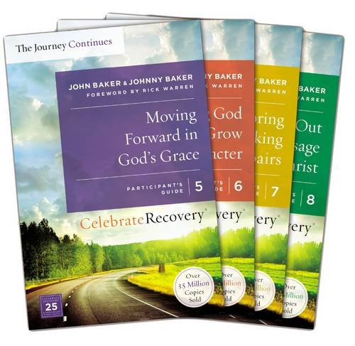 Celebrate Recovery: The Journey Continues Participant's Guide Set Volumes 5-8: A Recovery Program Based on Eight Principles from the Beatitudes (The Best Recovery Program)