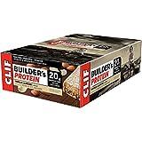 CLIF BUILDER'S - Protein Bar - Vanilla Almond Flavor - (68 Gram Non-GMO Bar, 12 Count)