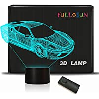 Decorative Night Light for Kids 3D Car Nightlight for...