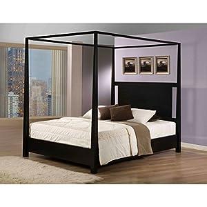 9. Napa Canopy Modern Full Bed