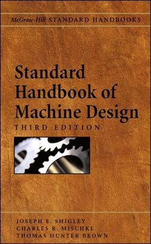 (Standard Handbook of Machine Design, 3rd Edition)