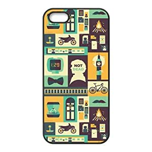 iPhone 5S Protective Case - Sherlock Hardshell Carrying Case Cover for iPhone 5 / 5S