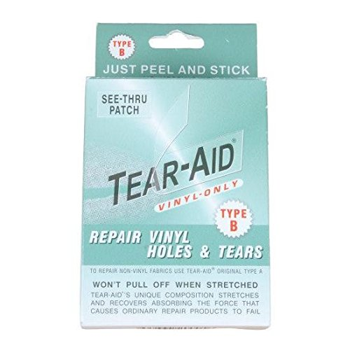 (VINYL LINER Tear Hole Rip REPAIR PATCH KIT 6