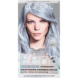 L'Oreal Paris Hair Color Feria Pastels, P1 Smokey Blue