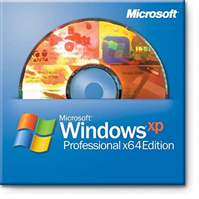 Windows XP Professional (English) (64 bit) (CD Only)