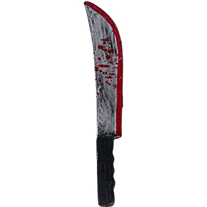 Amazon.com: Juguete de machete con sangre: Sports & Outdoors