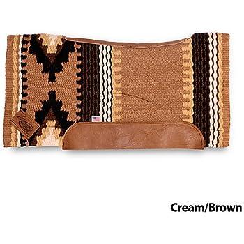Impact Gel Cowtown Wool Contour Felt Pad Cream/Bro