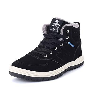 XIANV Men Winter Boots New Arrival Plush Snow Boots Hot Sale Fashion Casual Warm Keep Cotton Shoes  B076DWMWSR