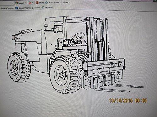 CNH / CASE Case Cnh M4K G103221 Lift Cylinder Kit MHE237 Rough Terrain Forklift 3040-01-212 - Rough Terrain Forklift
