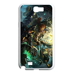 Samsung Galaxy N2 7100 Cell Phone Case White League of Legends Fnatic Jarvan IV OIW0399890
