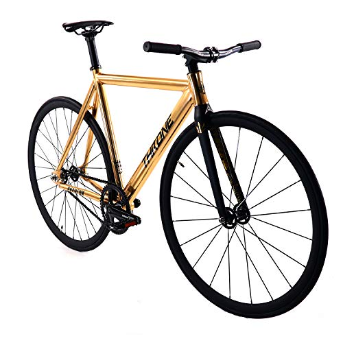 Throne Phantom (Limited) Series Complete Track Bike (Gold, 59) (Best Alloy Wheelset 2019)