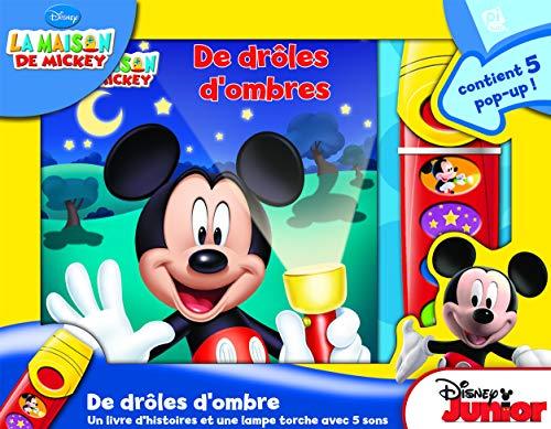 La Maison De Mickey - en ombre et lumières - Un livre d'histoire et une lampe torche avec 5 sons - Mickey Mouse Flashlight Adventure Book - PI Kids (French Edition) ()