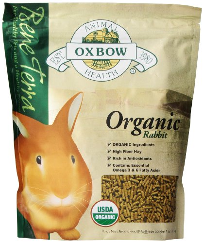 Shotgun Rabbit (Oxbow Bene Terra Organic Rabbit Food, 3 lb)