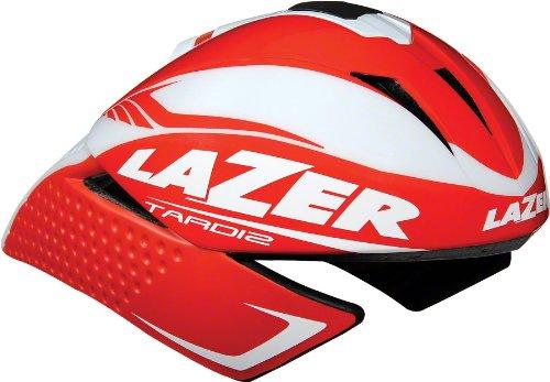 Lazer Tardiz Helmet Red/ White, M
