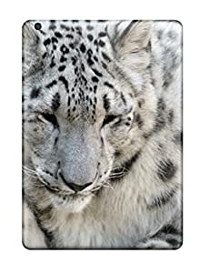 Tpu Case For Ipad Air With Snow Leopard Design
