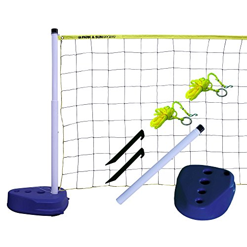 Park & Sun Sports Portable Indoor/Outdoor Swimming Pool Volleyball Net System -  PS-PVB