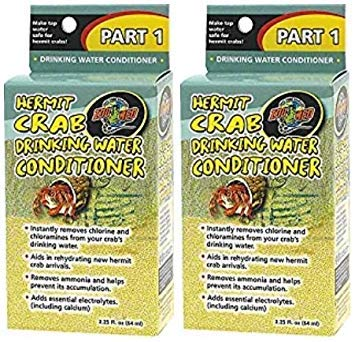 Zoo Med Hermit Crab Drinking Water Conditioner (2 Pack)