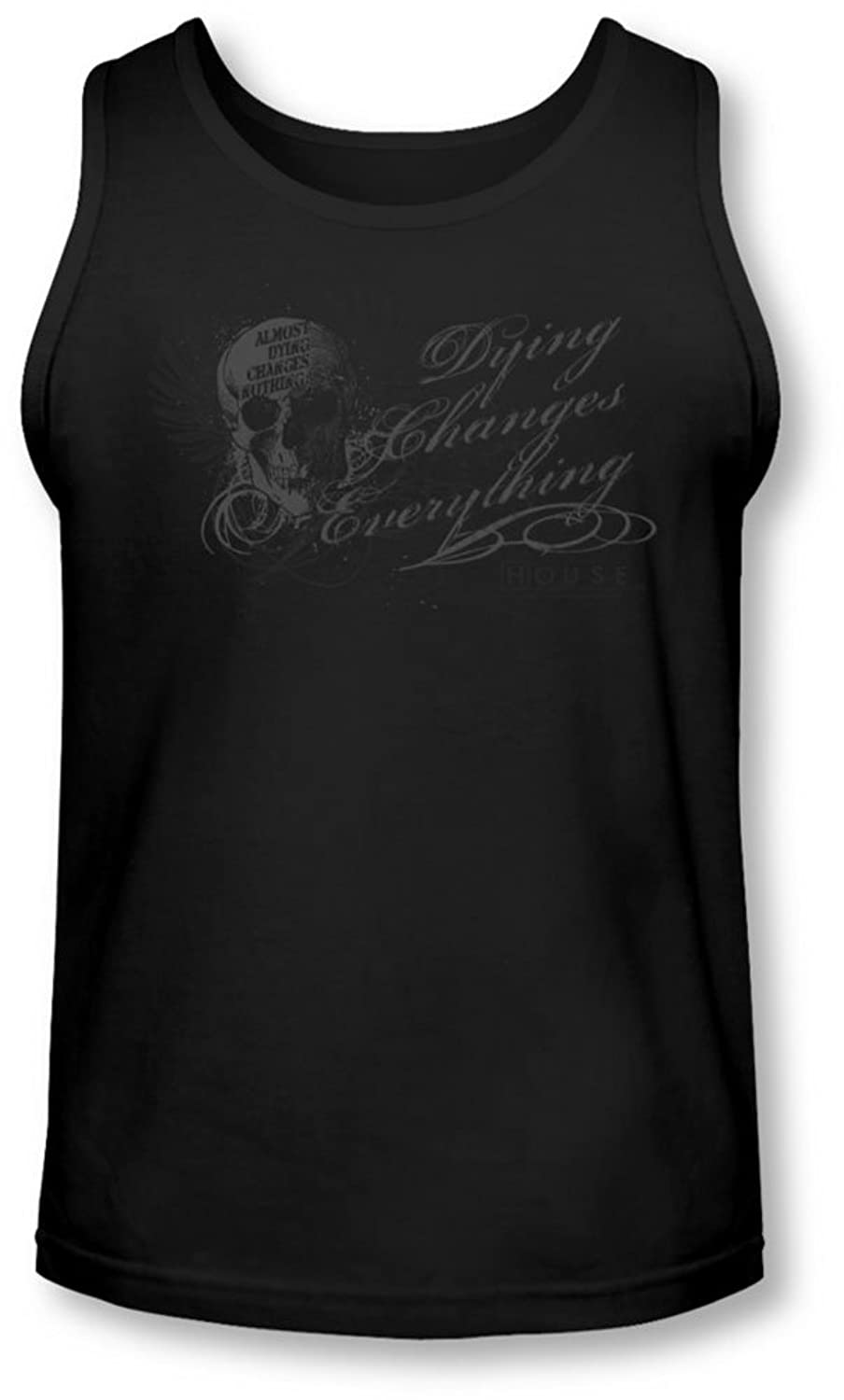 House - Mens Changes Everything Tank-Top