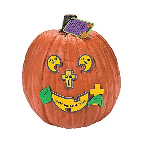 The Pumpkin Prayer Pumpkin Decorating Craft Kit (Pumpkin Prayer)