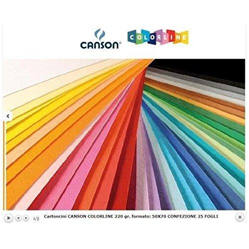Canson Colorline 25fogli 200041134