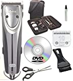Oster 2-Speed Outlaw Dog Animal Clipper With Case,DVD,Shears And #10 Blade A5.