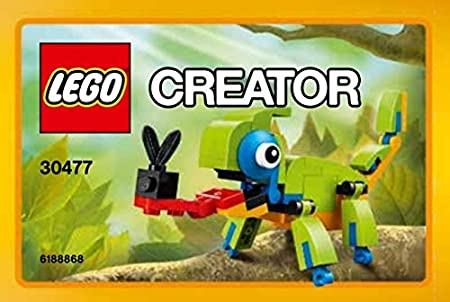 "Lego Creator ""Chameleon"" Polybag 30477: Amazon.co.uk: Toys & Games"