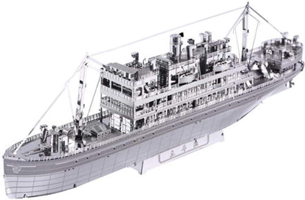 MQKZ Pacific Cruises 3D Metal Tridimensional Modelo ensamblado ...