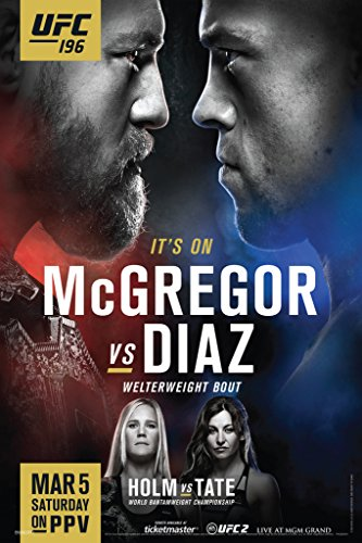 Pyramid America UFC 196 Conor McGregor vs Nate Diaz Sports P