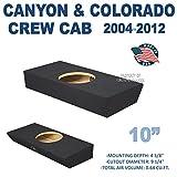 Chevy Colorado & Gmc Canyon crew cab 10' Single sealed sub box