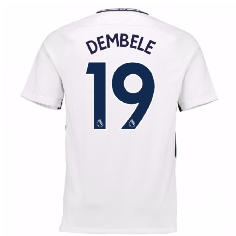 2017-18 Tottenham Home Football Soccer T-Shirt Trikot (Moussa Dembele 19)