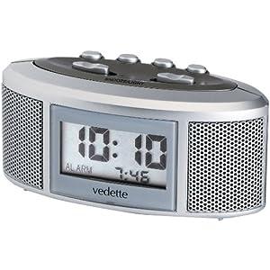 Vedette VR30045 - Reloj Despertador Digital de Cuarzo Unisex 3
