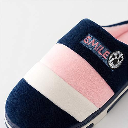Rose Modèle Mules Unisex Chaussons Homme Antidérapant Slippers Chaussures Mémoire Femmes Pantoufle Kemosen Hiver Chausson Mousse À xOZwanq8