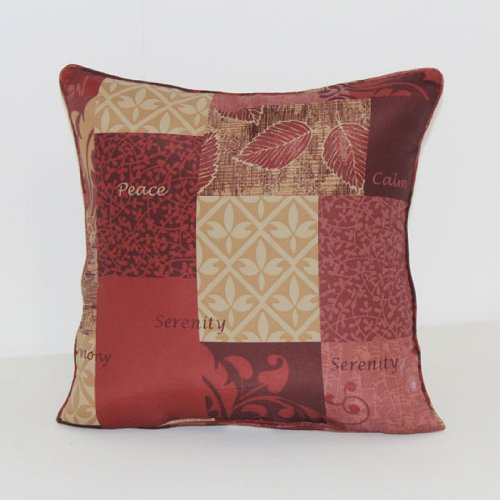 Serenity Red Floor Cushion (Cushions Brentwood)