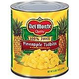 Del Monte Pineapple Tidbits - 106 oz. can