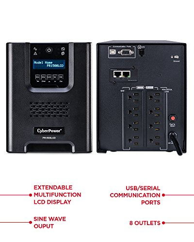 Build My PC, PC Builder, CyberPower PR1500LCDN