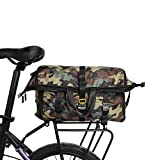 Rhinowalk Bike Bag Postman Pannier Bag(Rear Seat Bag Rack Trunk Bag Shoulder Bag Laptop Pannier Rack Bicycle Bag Professional Cycling Accessories)