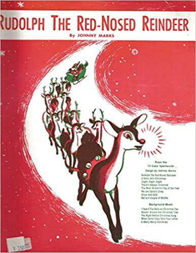 Rudolph the Red-Nosed Reindeer by Johnny Marks Voice, Piano, Chords ...