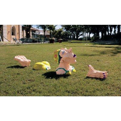 Design Toscano Coco Swims the Channel Sculpture