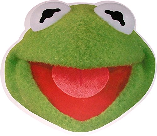 The Muppets - Kermit The Frog - Card Face Mask