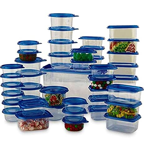 Amazoncom Thegood88 88 Piece Plastic Food Storage Container Set