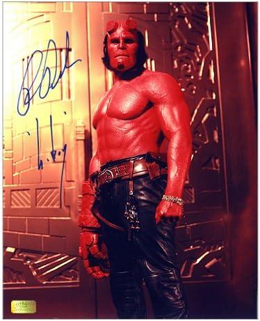 Ron Perlman firmada 8 x 10 Classic Hellboy fotos: Amazon.es ...