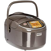 ZOJI Zojirushi NP-NVC18 Induction Heating Pressure Cooker (Uncooked) and Warmer, 10 Cups/1.8-Liter
