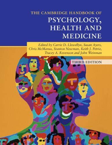 Cambridge Handbook of Psychology, Health and Medicine (Cambridge Handbooks in Psychology) (Cambridge Handbook Of Psychology Health And Medicine)